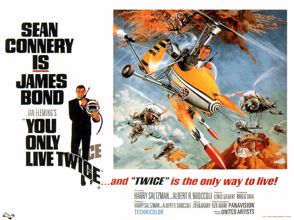 Public domain movie Poster of James Bond