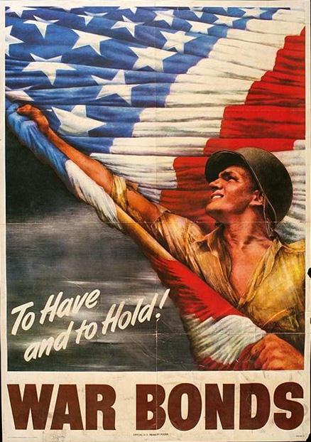 To have and to hold! : war bonds united state public domain poster