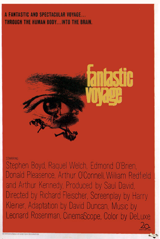Fantastic voyage Public domain movie Poster