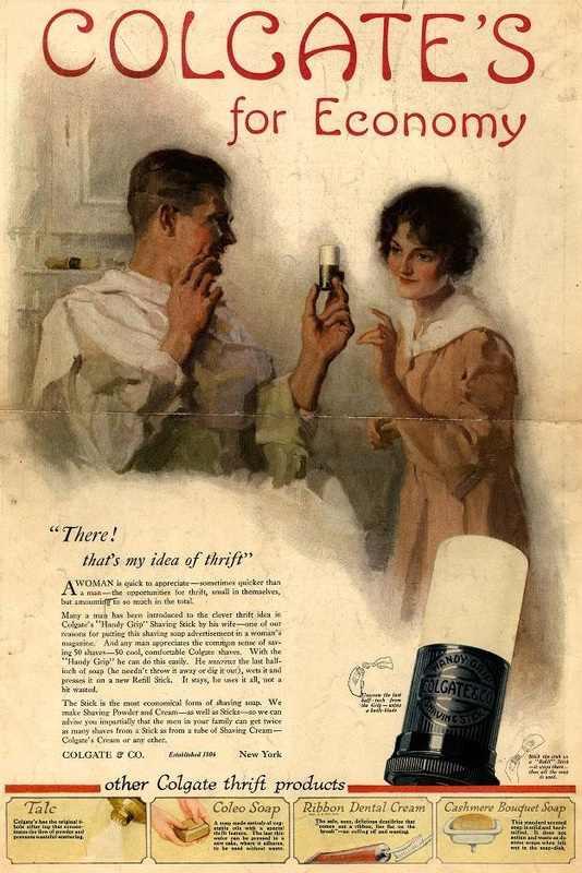 Colgate's for Economy public domain advertising poster
