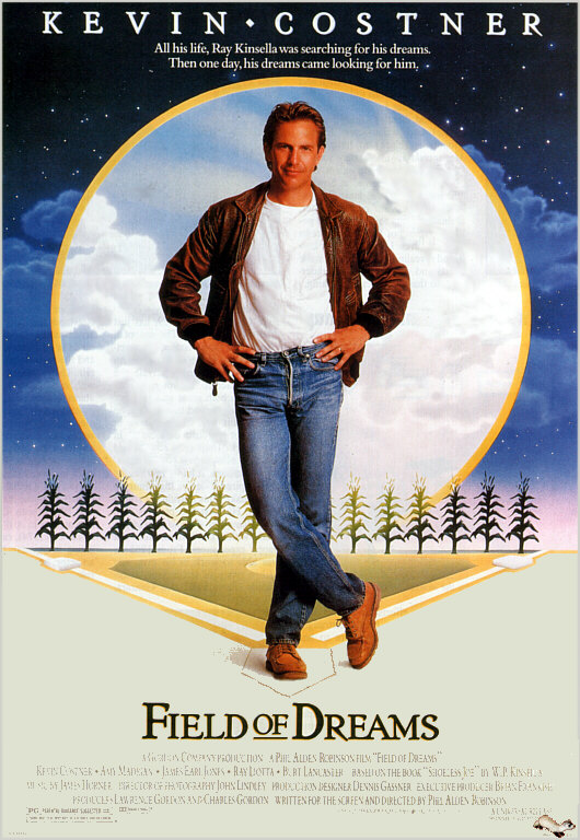 Field of dreams Public domain movie Poster